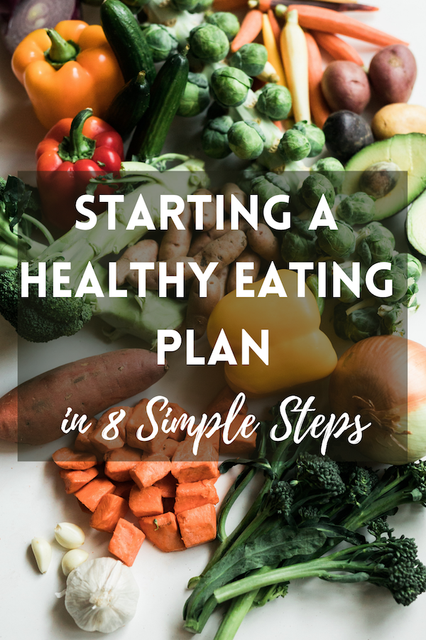 starting a healthy eating plan in 8 simple steps